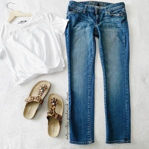 Gap Low Rise Skinny Jeans Sz 4s/27